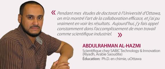 Témoignage de Abdulrahman Al-Hazmi