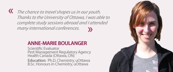 Testimonial from Anne-Marie Boulanger