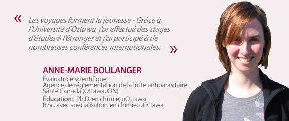 Témoignage de Anne-Marie Boulanger