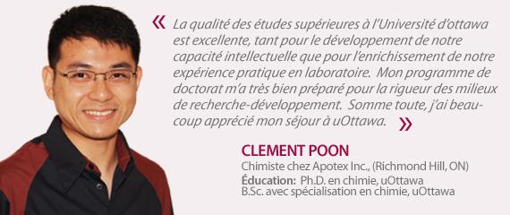 Témoignage de Clement Poon