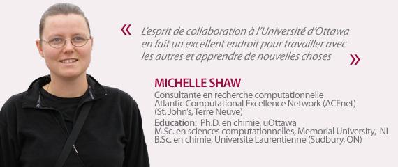 Témoignage de Michelle Shaw