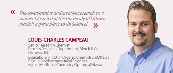 Testimonial from Louis-Charles Campeau