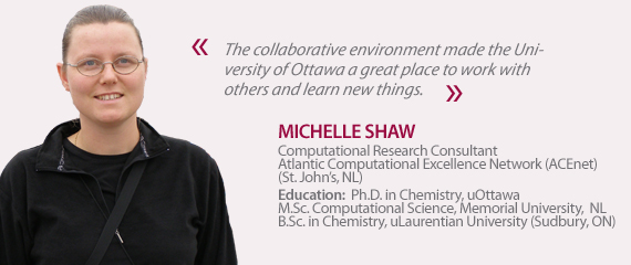 Testimonial from Michelle Shaw