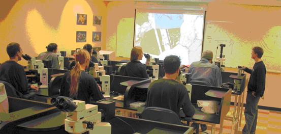 Teaching Microscopy Laboratory