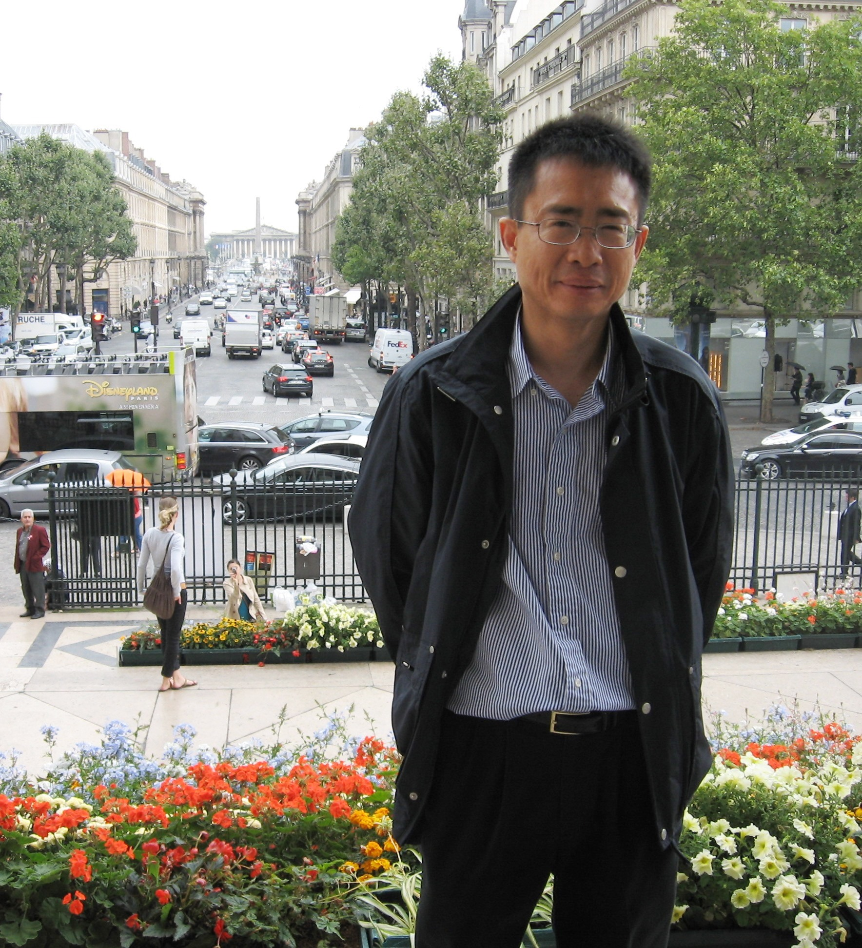Photo of Bao Nguyen in Paris