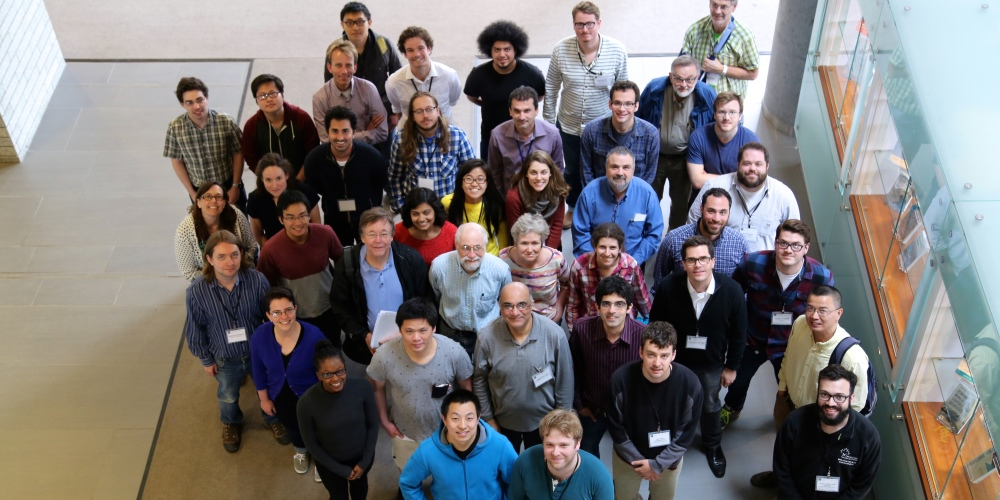 Photo of participants at the Workshop on Hecke Algebras and Lie Theory