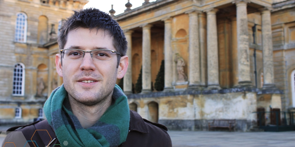 Tyler Shendruk continues to study microfluidics at Oxford University in England