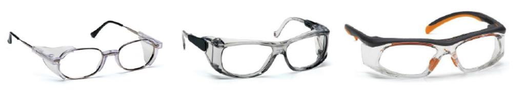Photo of prescription safety glasses