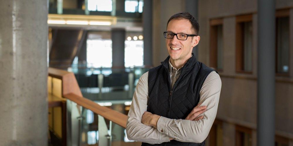 Photo of professor Pascal Audet